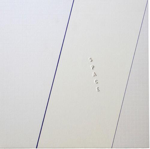 17_-Space-001-(C21)-cm-40x40-Carta-Fabriano-su-masonite-lettere-a-rilievo-1981