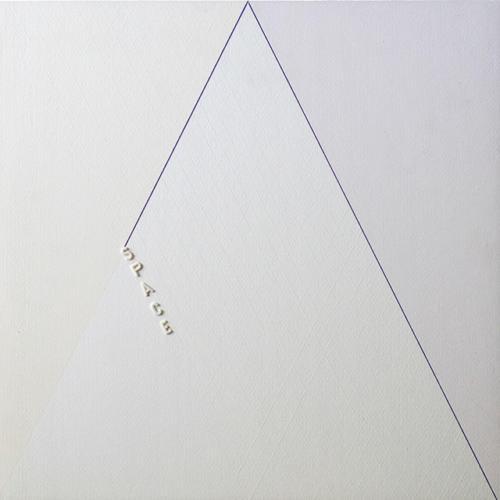 18_Space-cm-40x40-Carta-Febriano-con-lettere-a-rilievo-su-masonite-1981