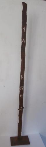 69_Stele-con-ruggine-Y-cortèn-cm-100x3,5-2006